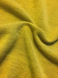 sweater knit fabric mustard yellow brushed hacci sweater knit fabric designer
