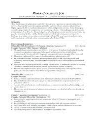administrative resume template executive assistant resume templates office administrative sle