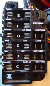 1986 chevy k10 fuse box wiring diagram simonand