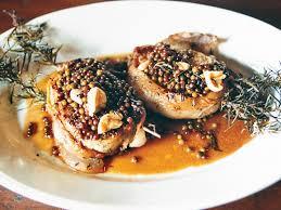 pan seared pork chops with green peppercorn sauce recipe matt