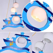 Nautical Pendant Lights Style Kids Cartoon Type Nautical Pendant Lights