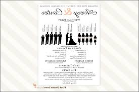 one page wedding program template one page wedding programs zoro blaszczak co