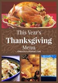 three different thanksgiving menu ideas thanksgiving menu