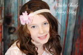 hippie flower headbands hippie girl crochet flower headband chicky chicky bling bling llc