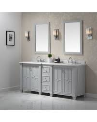 huge deal on ove decors positano dove grey 75 inch bathroom vanity