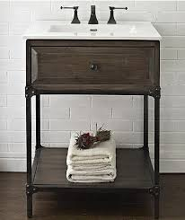 Industrial Vanity Table 9 Scaled Down Vanities For Small Baths