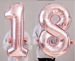 balloons for 18th birthday 18th birthday party 40 foil balloon heliumair decoration age 18