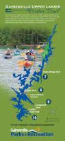 Lake Lanier Map Gainesville Upper Lanier Water Trail