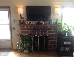 tv above the fireplace u2013 virginia roberts
