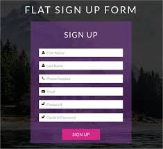 download layout html5 css3 html5 signup registration forms 20 free html css format free