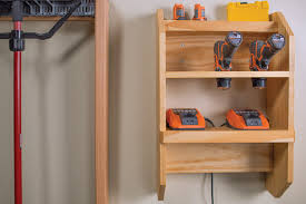 charging shelf station cordless tool charging station buildsomething com