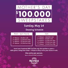 100 000 mother u0027s day sweepstakes tampa fl may 14 2017 1 00 pm