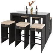 Patio Furniture Bar Height Bar Height Patio Tables Walmart Com