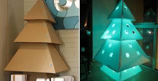 cardboard christmas tree how to make cardboard christmas tree diy crafts handimania