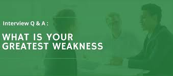 tell about yourself job interview best answer to what u0027s your greatest weakness interview question