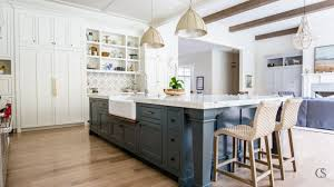 best wall color with oak kitchen cabinets our favorite blue kitchen cabinet paint colors christopher