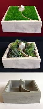 stin with danke mit mosaic make these simple diy concrete planters with geometric diy