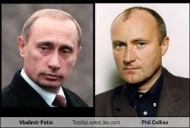 Vladimir Putin Meme - vladimir putin totally looks like phil collins cheezburger funny