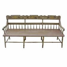Outdoor Furniture Baltimore by American Fancy Painted Grape Vine Spindle Bench Baltimore