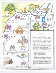 Indiana State Parks Map by Purdue Arboretum U2013 Horticulture Park