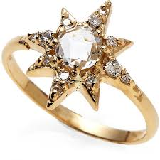 gold rings star images Anzie 14k gold star ring 700 liked on polyvore featuring jpg