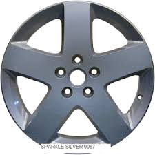 chevrolet gmc wheel touch up paint sparkle silver ebay
