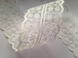 lace ribbon ivory vintage style lace ribbon trimming bridal wedding scalloped