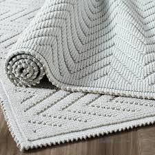 Grey Bathroom Rug by How To Clean Chevron Bath Rug U2014 Prefab Homes