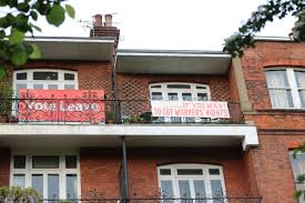 north london neighbours in u0027battle of the balconies u0027 over brexit