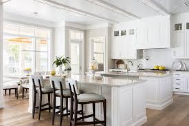 kitchen crown molding traditional with dark hardwood floors window
