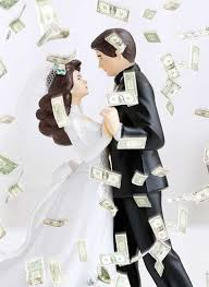 wedding money when did shameless money making become a wedding theme chatelaine
