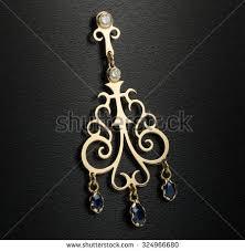 Chandelier Gold Earrings Chandelier Earrings Stock Images Royalty Free Images U0026 Vectors