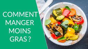 comment am ager cuisine comment manger moins gras