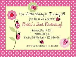 birthday invitations lovely birthday party invitation design idea