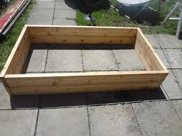 contemporary planter boxes with simple wooden planter design for