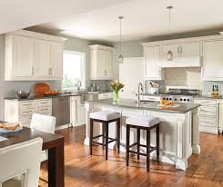 Painting Wooden Kitchen Cabinets Painted Oak Kitchen Cabinets Decora Cabinetry