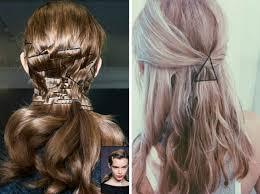 Modische Frisuren by 8 Modische Frisuren Mit Haarklammern