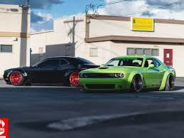 slammed jeep liberty widebody liberty walk dodge challenger looks overdone dpccars