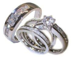 camo wedding sets his and hers 925 sterling silver titanium camo wedding rings set
