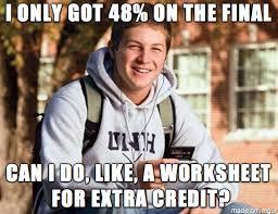 Final Exam Meme - what students say during final exam week meme guy