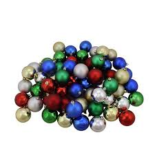 96ct traditional multi color shiny matte shatterproof