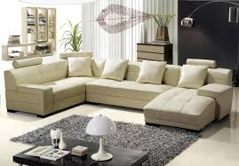 bonded leather sectional sofa modern cream bonded leather sectional sofa modern living room cream