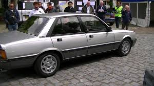 peugeot america car spotting 1985 peugeot 505 turbo injection youtube