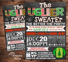 ugly christmas sweater party invitation wording u2013 gangcraft net