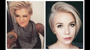 extreme short haircuts for women side cut haircut women youtube