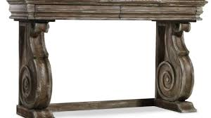 powell scroll console table awesome hooker furniture living room rhapsody scroll console table