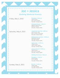 destination wedding itinerary template wedding weekend itinerary for guests