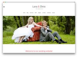 the best wedding websites 20 beautiful and free wedding themes 2017 colorlib