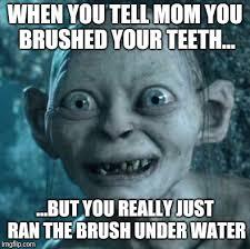 Bad Teeth Meme - gollum meme imgflip
