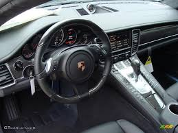 Black Interior 2011 Porsche Panamera Turbo Photo 41349623